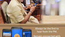 Narendra Modi's mobile app